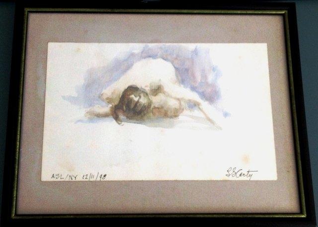 Leo Carty Watercolor
